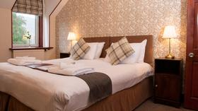 Supper King Double and twin room available at the Kinlochewe Hotel in Torridon