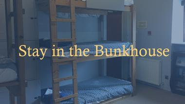 Stay at the bunkhouse hostel at the Kinlochewe Hotel in Torridon
